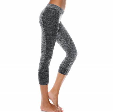 Controlbody Grey Melange 3/4 Sport Leggings