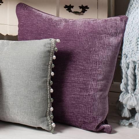 Parisian House Heather Shimmer Cushion 55 x 55cm