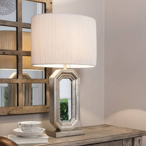 Gallery Sabino Mirrored Table Lamp