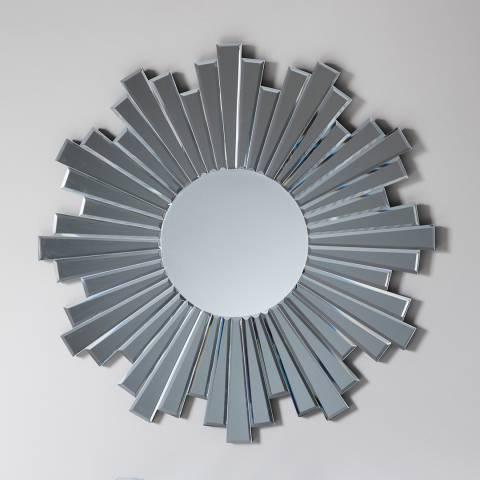 Gallery Silver Zamora Wall Mirror 80x80cm