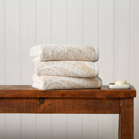 Christy Driftwood Mandalay Bath Towel