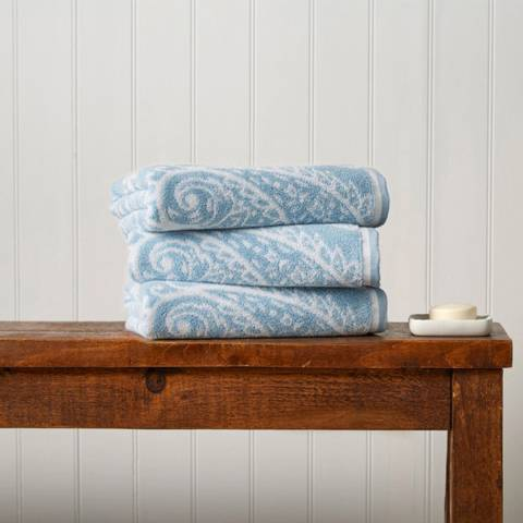 Christy Soft Chambray Mandalay Bath Sheet
