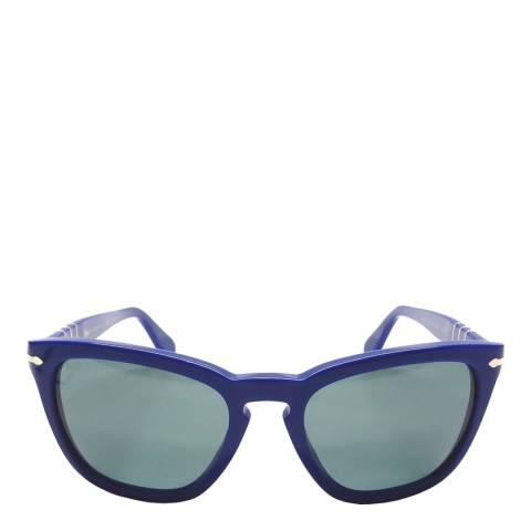 Persol Unisex Blue Sunglasses 55mm