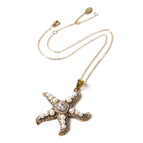 Amrita Singh Pearl Star Pendant Necklace