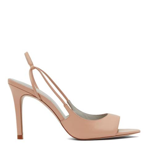 Reiss Apricot Iona Slingback Sandals
