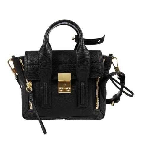 3.1 Phillip Lim Black Mini Pashli Leather Bag