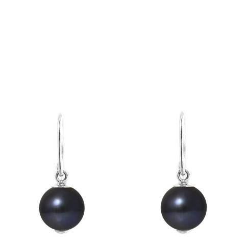 Just Pearl Black Tahitian Freshwater Pearl Earrings