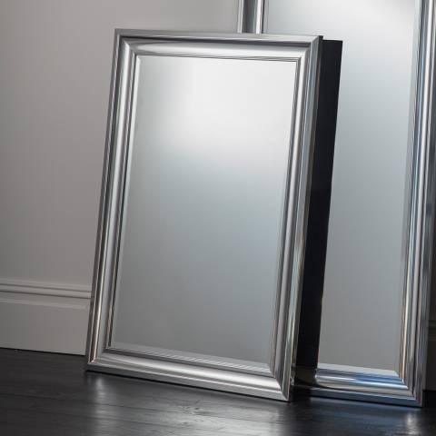 Gallery Silver Bowen Rectangular Mirror 42 x 30 Inches