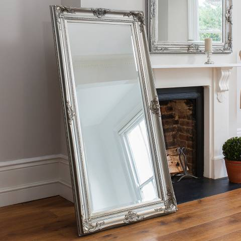 Gallery Silver Harrow Leaner Mirror 171x85cm