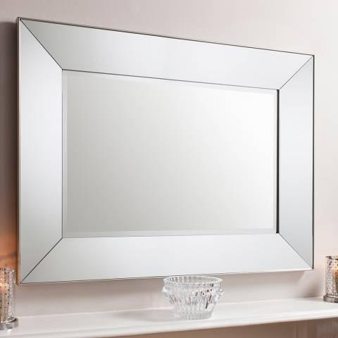 Gallery Cream Harrow Rectangle Mirror 115x84cm