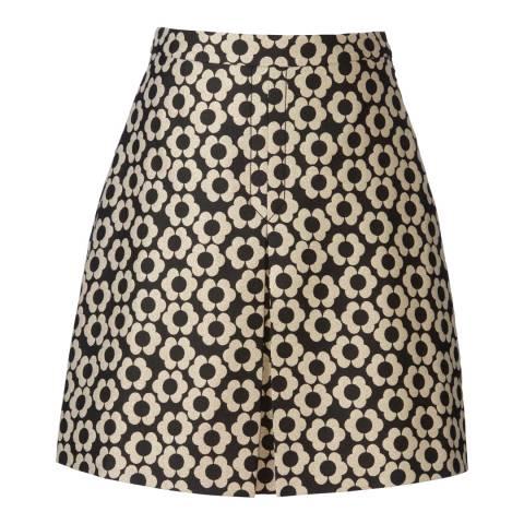Orla Kiely Onyx Confetti Jacquard Telma Skirt