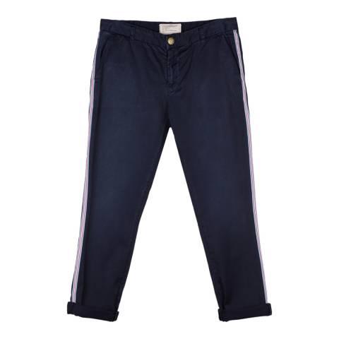 Current Elliott Deep Dark Buddy Cotton Cropped Trousers