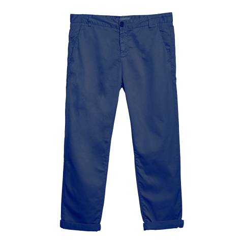 Current Elliott Midnight Navy Captain Trousers