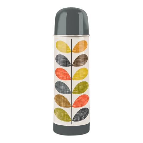 Orla Kiely Multi Scribble Stem Flask 500ml