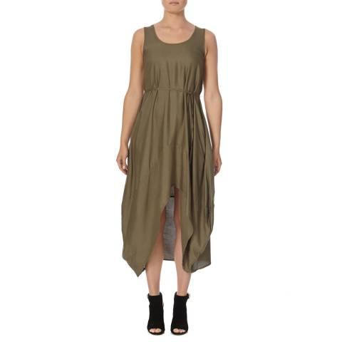 Bolongaro Trevor Khaki Parachute Dress