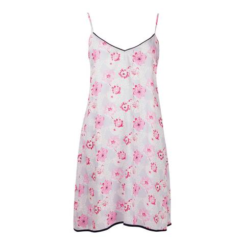 Cyberjammies White/Pink Peony Delight Woven Chemise