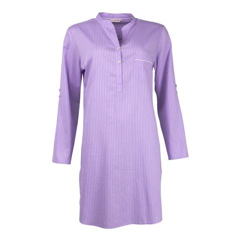 Cyberjammies Purple Patchwork Aviary Woven Nightshirt