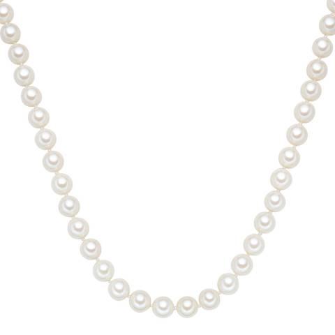 Perldesse White Pearl Necklace