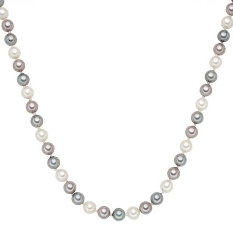 Perldesse Multi Coloured Pearl Necklace