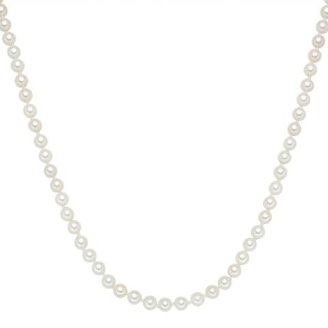 Perldesse White Pearl Necklace 6mm / 45cm