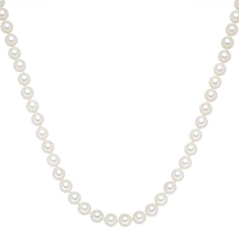 Perldesse White Pearl Necklace