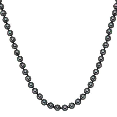 Perldesse Anthracite Pearl Necklace