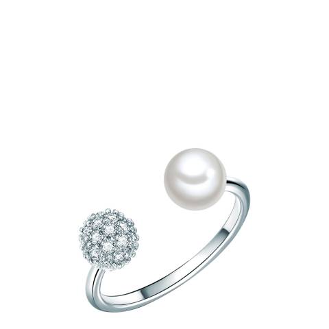 Perldesse Silver Pearl Ring