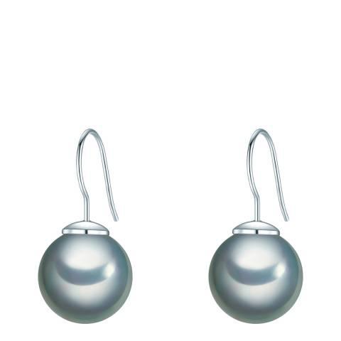 Perldesse Grey Pearl Drop Earrings