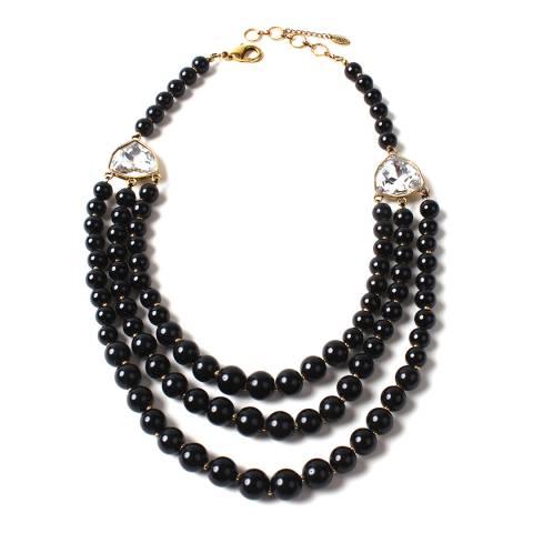 Amrita Singh Black Sloane Necklace