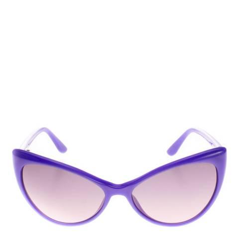 Tom Ford Women's Purple Anastasia Sunglasses 55mm