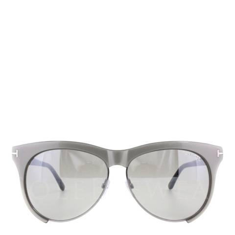 Tom Ford Women's Grey Leona Sunglasses 59mm