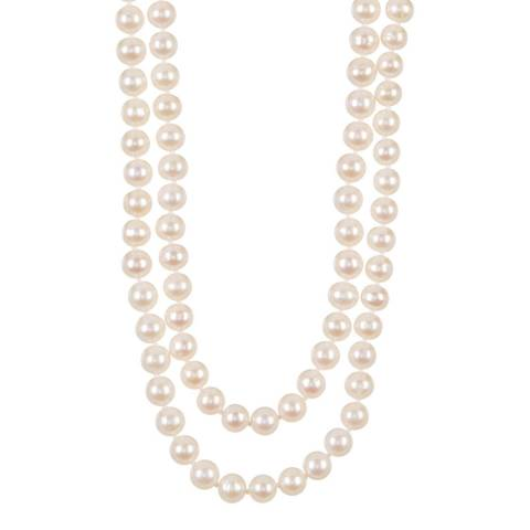 White label by Liv Oliver White Pearl Endless Necklace