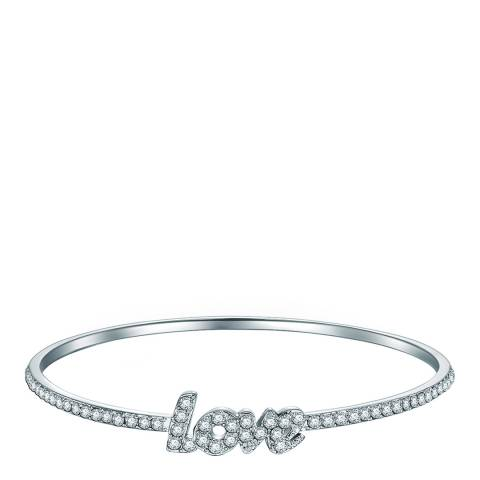Highstreet Jewels Silver Love Bangle