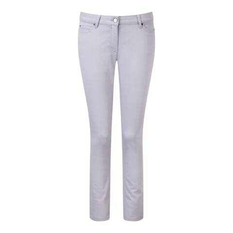 Pure Collection Lilac Slim Leg Jeans