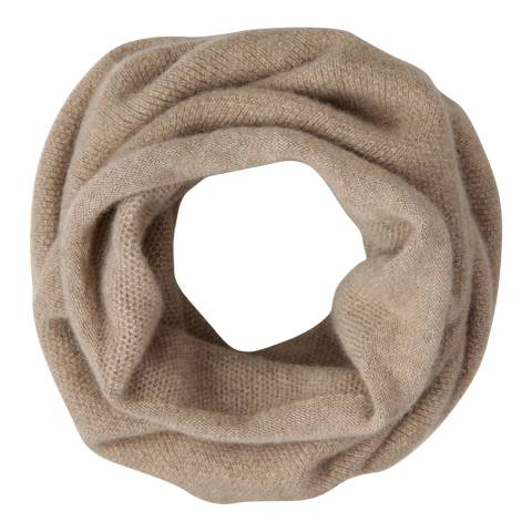 Laycuna London Taupe Italian Cashmere Snood