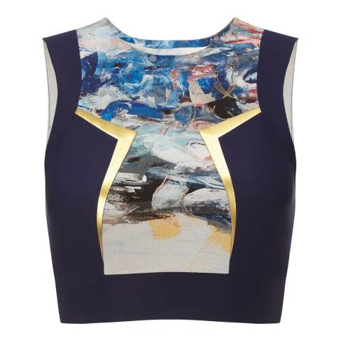 Lucas Hugh Midnight Multi Nordica Crop Top