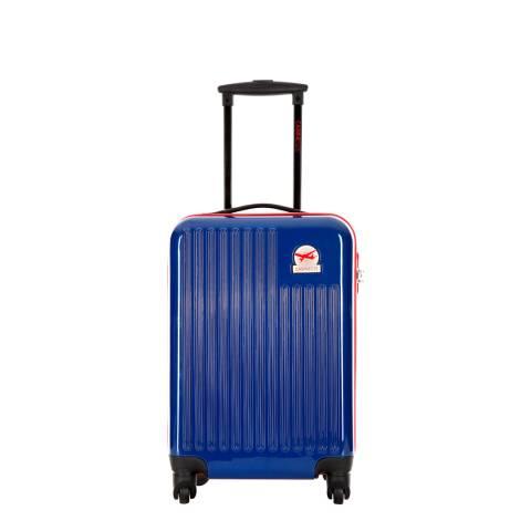 Cabine Size Navy 4 Wheel Cabin Suitcase 48 cm
