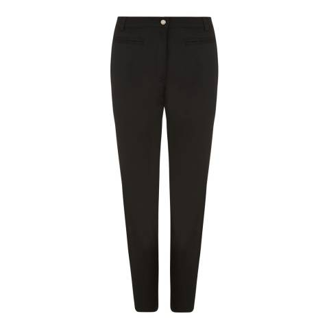 Jaeger Black Jetted Pocket Stretch Trousers