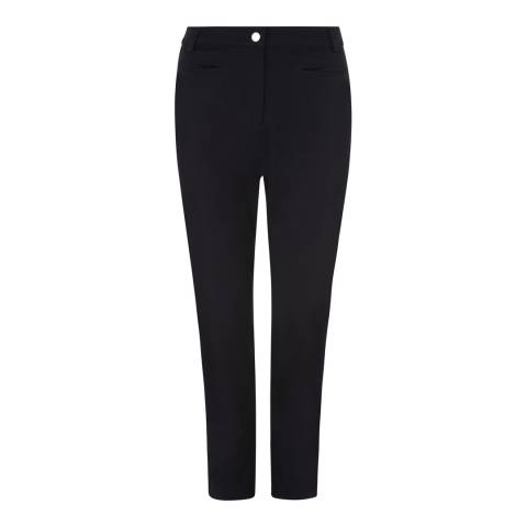 Jaeger Navy Jetted Pocket Stretch Trousers