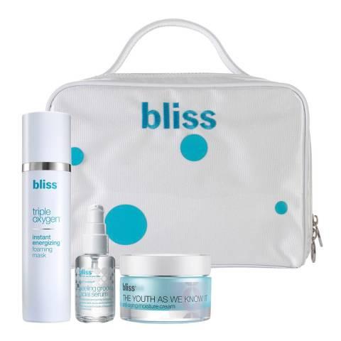 Bliss Anti Ageing Triple Threat Kit WORTH £151