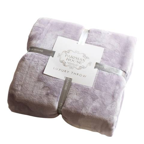 Gallery Lavender Flannel Fleece Throw 140x180cm