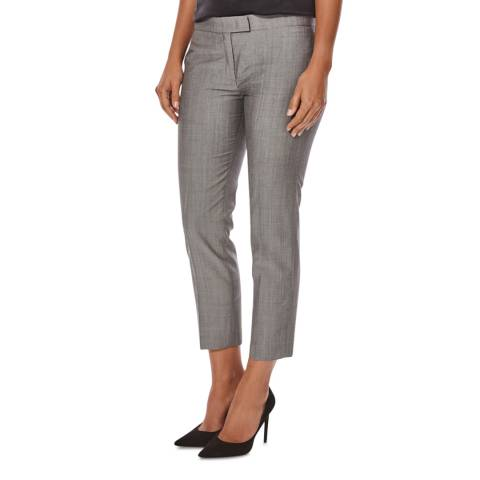 Joseph Grey Cropped Queen Wool Trousers