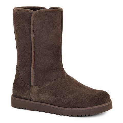 UGG Chocolate Brown Michelle Sheepskin Lined Boots