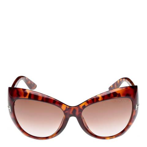 Tom Ford Women's Havana/Brown Bardot Sunglasses