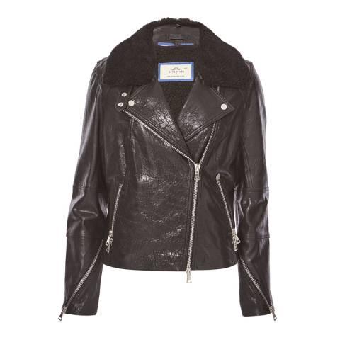 Urbancode Black Biker Jacket