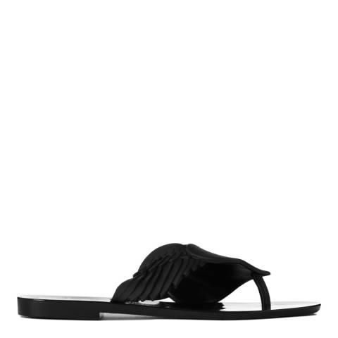 Vivienne Westwood for Melissa Black Harmonic Cherub Sandals