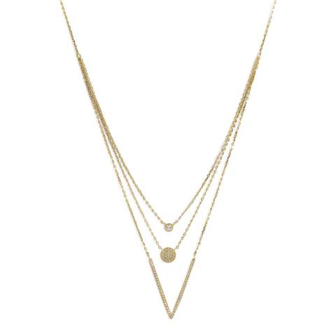 Black Label by Liv Oliver Gold Layered Necklace