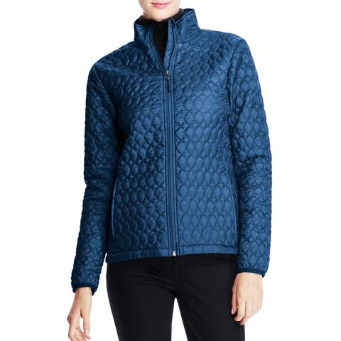 Lands End Neptune Blue Packable Primaloft Jacket