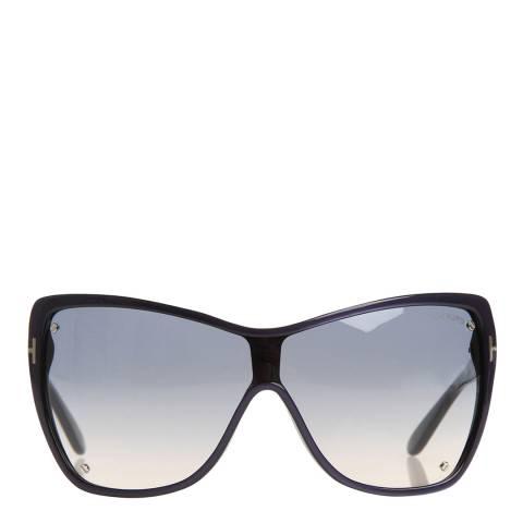 Tom Ford Women's Dark Azure Blue Ekaterina Sunglasses 51mm