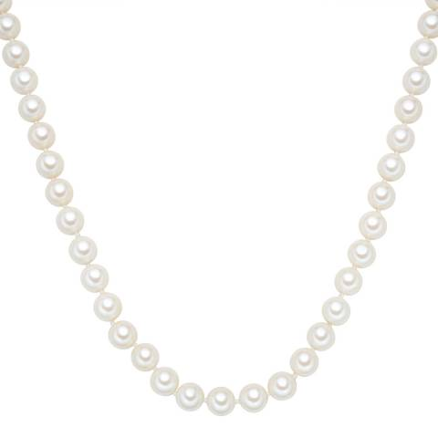 Perldesse White Pearl Necklace 10mm / 120cm